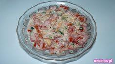 Sałatka z pomidora Grains, Rice, Food, Essen, Meals, Seeds, Yemek, Laughter, Jim Rice