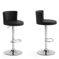 Lot de 2 tabourets de bar design, dossier Antennae DRAWER   prix, avis   9e49f5f20369