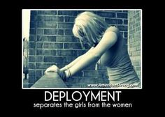 Deployment Sometimes it's harder to be a military girlfriend or wife than it is to be a Soldier. Airforce Wife, Navy Girlfriend, Military Girlfriend, Usmc, Boyfriend, Military Quotes, Military Love, Army Love, Army Quotes