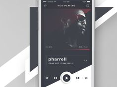 RUBRUM - iOS Music Player - Now Playing