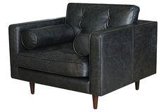 Johnathon Chair, Black 42Wx39Dx33H $1199 off 3120
