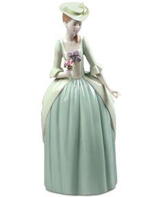 Lladro Porcelain Floral Scent Figurine
