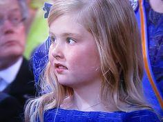 Prinses Amalia. troonswisseling