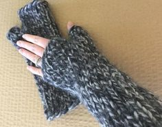 Quick, Easy Fingerless Gloves You Can Knit