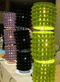 Como fazer luminária com caixa de ovos - Artesanato com Reciclagem - O mundo do reaproveitamento!