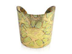 Evocateur 22K Gold Leaf Sunburst Cuff Bracelet