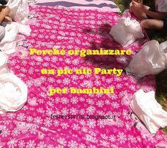 5 buoni motivi per organizzare un Picnic Party come festa di compleanno per bambini - Dal Blog Feste e Sorrisi