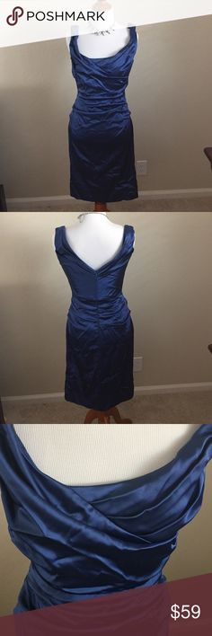 Nordstrom formal dress by Suzi CHIN size 2 Gorgeous blue dress tts. Perfect for the holidays Nordstrom Dresses