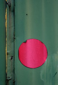 the red dot by greenchartreuse, via Flickr