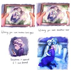 Elsa missing her parents //Ok, let's start off the day will alllll sorts of Frozen feels. Frozen/POTO