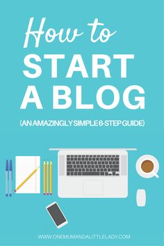 Want to know How to Start a Blog in under 30 minutes? Learning how to start blogging can feel overwhelming (I know, I've been there!) but it's actually incredibly easy (seriously, trust me!). Simply pop on over to my amazingly simple how to start a blog step by step guide (there's only 6 steps!) and you'll be up and running in no time (even if you think you think you're no good with technology!).