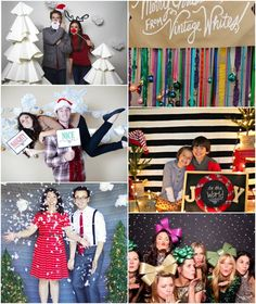 Christmas Photobooth backdrop