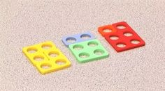 Making 6 in different ways using numicon