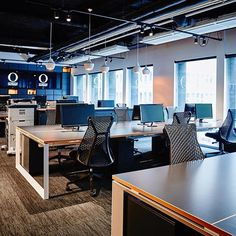 Open offices at Outkast Group in Sydney @outkastgroup   design by Outkast Group   photo by Tanya Zouev   #officesnapshots #officedesign #interiors #interiordesign