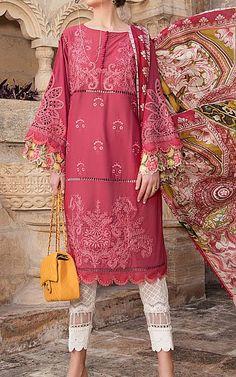 Lawn Suits, Hand Embroidery, Kimono Top, Pink, Tops, Women, Fashion, Moda, Fashion Styles