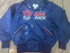 Coors Slo Pitch Baseball Beer League Satin by RetroFreshTees, $40.00