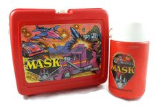 A personal favorite from my Etsy shop https://www.etsy.com/listing/460759556/1985-mask-red-plastic-lunch-box-mobile