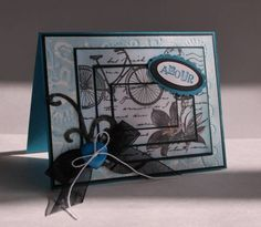 Blue Beate Valentine by mamaxsix - Cards and Paper Crafts at Splitcoaststampers