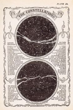 Star Constellations Free Printable - from Knick of Time /knickoftime/.net                                                                                                                                                     More