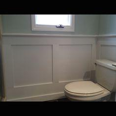 MDF Wainscoting in Bathroom