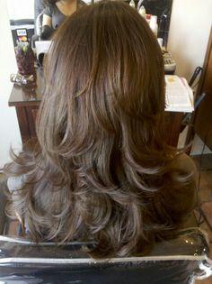 Layer haircut