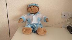 """"""" Monkey"""" The Monkey  (16"""" Teddy Mountain Bear) With Clothes    #TeddyMountain"""