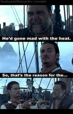 〖 Disney Pirates of the Caribbean William Will Turner Joshamee Gibbs Captain Jack Sparrow funny 〗 Captain Jack Sparrow, Will Turner, Jack Sparrow Quotes, Jack Sparrow Funny, Johny Depp, Cw Series, Pirate Life, Disney Memes, Pirates Of The Caribbean