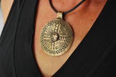 Bronze Aztec Medallion Pendant Project Tutorial | Cool Tools blog