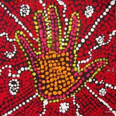 http://artiswhatiteach.blogspot.fr/2011/05/3rd-grade-australian-aboriginal-dot.html