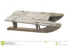 wooden sled - Google Search