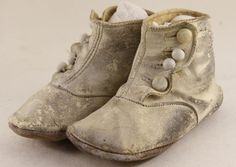 antique baby shoes!
