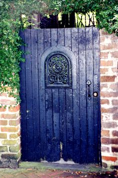 Garden gate, Savannah