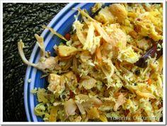 Idichakka Thoran (Tender Green Jackfruit Stir Fry)