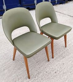 Pair of mid century #modern 'ben #chairs'. #vintage. retro. industrial.1950s 1960,  View more on the LINK: 	http://www.zeppy.io/product/gb/2/111941514264/