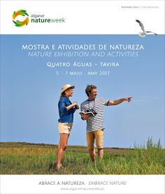 From 5-14 May, don´t miss Algarve Nature Week 2017 | via visitportugalblog | 17/0372017  In May don't miss Algarve Nature Week, an event that will draw attention to the Algarve's natural beauty.  During this event, there will be special offers available on more than 90 outdoor activities and 8 accommodation facilities, some of which enjoy a rural setting.  #Portugal