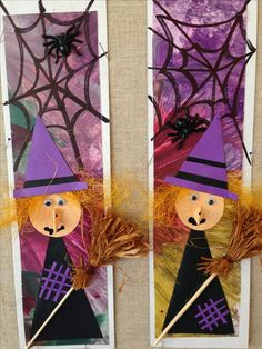 carterie, pergamano et tableaux - Page 13 Halloween Arts And Crafts, Halloween Crafts For Toddlers, Halloween Activities, Halloween Decorations, Halloween Kunst, Fall Halloween, Happy Halloween, Halloween Bedroom, Manualidades Halloween