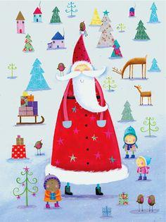 Pinzellades al món: Pare Noel. http://bibliocolors.blogspot.com/search/label/Pare%20Noel
