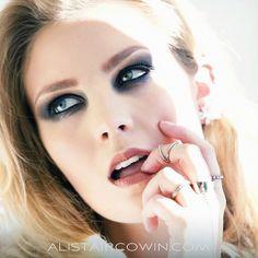 Studio shoot for AC's Beauty Book - 2015     Makeup: Sammy Carpenter