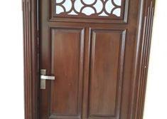 Homemade door design is or your luxury houses, you can choose fancy entrance doors prepared with glass grills or different framing. Door Design Photos, Home Door Design, Glass Panel Door, Glass Panels, Yui, Wooden Doors, Wood Working, Luxury Homes, Tall Cabinet Storage