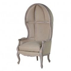 Divine Antiqued Canopy Seat - Grey