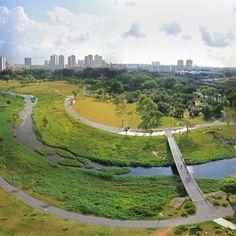 Kallang River Bishan Park in Singapore bylandscape designersAtelier…
