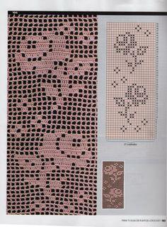 Βελονάκι και τις τέχνες: πλέκω άκρες