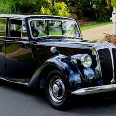 1951 Daimler. Wedding