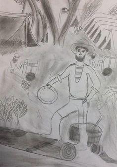 Life on the goldfields black and white Australia, Black And White, Gold, Life, Art, Art Background, Black N White, Black White, Kunst