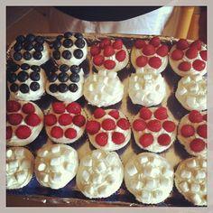 cute 4th of July cupcake idea