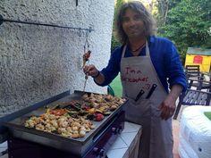 Philippe adore cuisiner sur sa plancha Verycook !