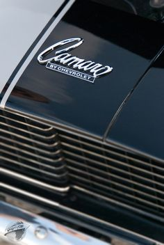 Cool badges on the old classic Chevys