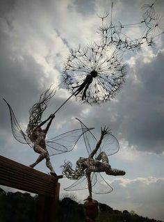 Fairies and dandelions
