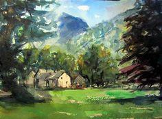 Watercolor Challenge September 2015 - Grasmere - WetCanvas