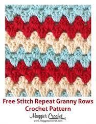 Image result for crochet patterned stripe